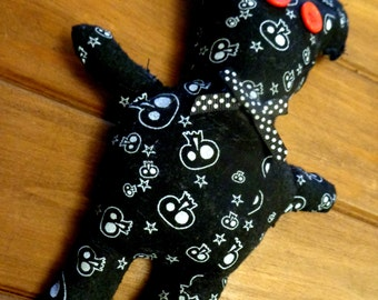 "Handmade Novelty Teddy Bear ""Scrap Bears"""