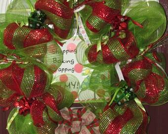 Oh My Christmas Wreath