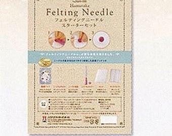 Needle Felting  Starter Kit  By Hamanaka