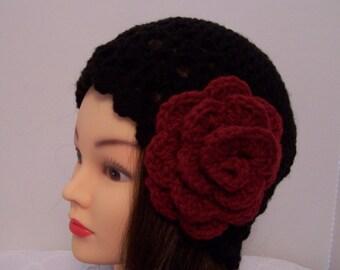 Black 20's Style Hat