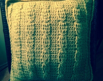Cable Stich Pillow