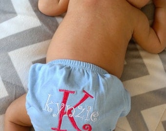 Embroidered Diaper Cover