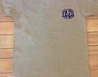 Monogram T-Shirt -  Monogram Shirt - Custom T-Shirt - Personalized T-Shirt - Ladies Monogram Shirt - Monogram - Monogram Tshirt