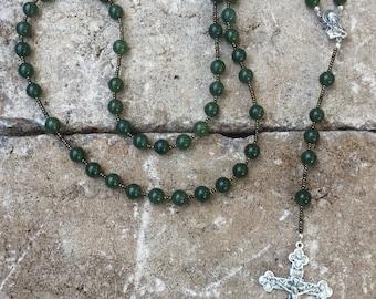 Nephrite Jade rosary