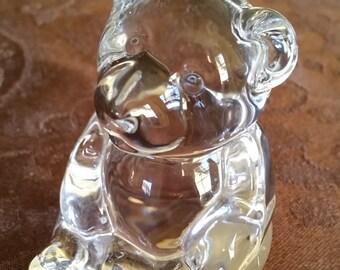 Decorative Crystal Teddy Bear Figurine