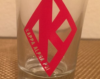 Kappa Alpha Psi Shot Glass