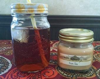 Sun Tea - Natural Soy Wax Candle - 6oz Mason Jar Candle