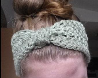 Homemade Crochet Headband
