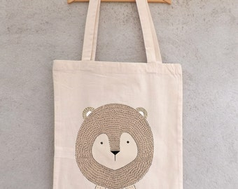 "Tote Bag ""Little Lion"" - shopping bag"