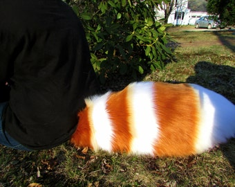 Any Color Plush Fluffy Red Panda Cosplay Fursuit Tail Tanuki