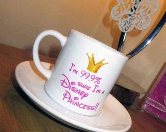 99.9% Disney Princess Tea Cup