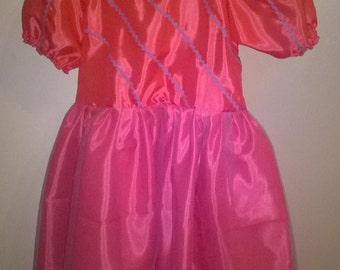 costume girl dress Princess 2-4 years