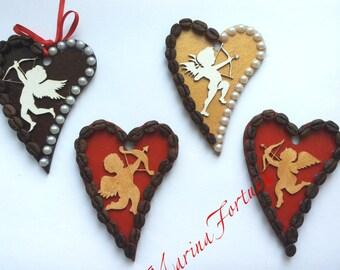 Coffee Valentine magnets