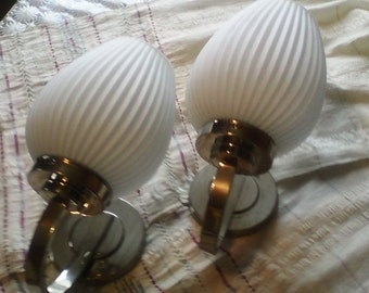 Lamp. Set wall lamps . vintage 1950