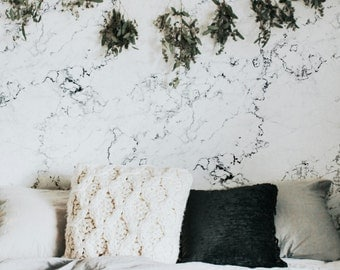 Marble Wallpaper / Traditional or Removable wallpaper L779