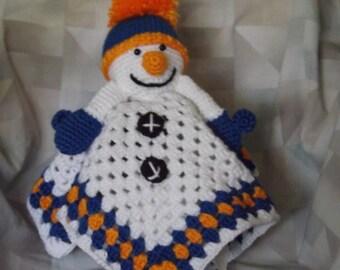 Snowman Security Blanket