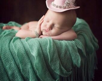 Newborn Cowgirl Hat