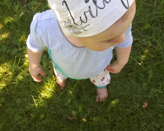 Wildflower Baby Beanie - Original and Ethical fashion