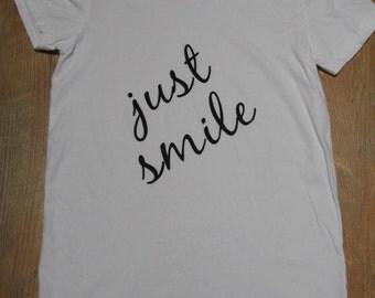 Inspiration T-shirt//Yoga//Smile