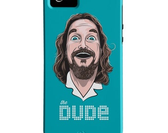 The Dude iPhone Case - The Big Lebowski Case - Movie iPhone Case - iPhone 6 Case - Jeff Lebowski - iPhone 6 Plus Case - Film Buff Gift