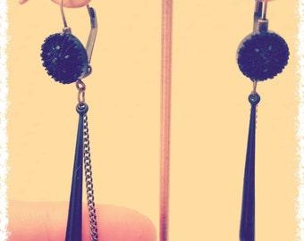 """Drops fine """"Yasmine"""" earrings"""