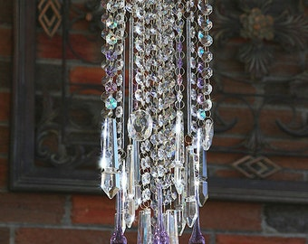 Crystal Suncatcher Large Window Chandelier Suncatcher Non Electric