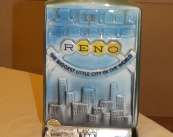 Vintage Jim Beam Decanter  Reno 100 Years