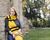 ON SALE Hufflepuff Inspired Scarf