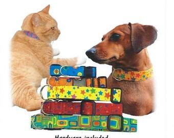 Playful Pet Collars Pattern PDF