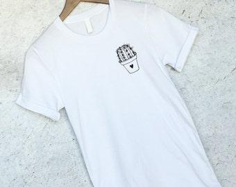 Cactus shirt | Etsy