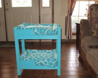Handmade Pet Bunk Bed