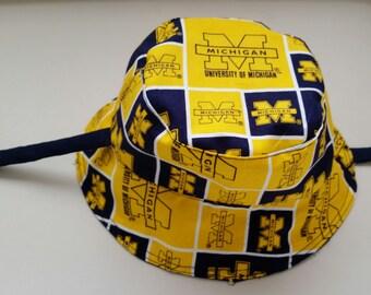 Michigan Wolverines Bucket Hat