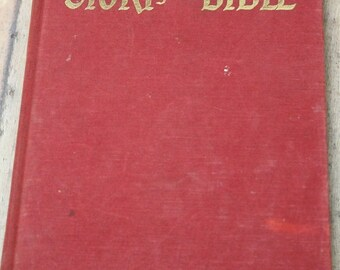 Hurlbut's Story of the Bible-Bible Stories for young and old-Jesse Lyman Hurlbut-Scripture book-Sunday School-1957