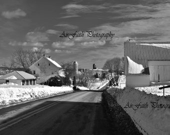 The Edge of town,Black and White Collection I