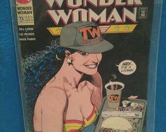 Wonder Woman! Diana's New Job Comic Book 1993