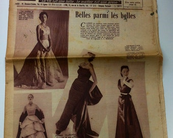 French fashion journal 50s