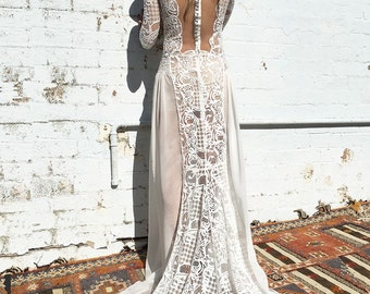 My Love, wedding dress with sleeves