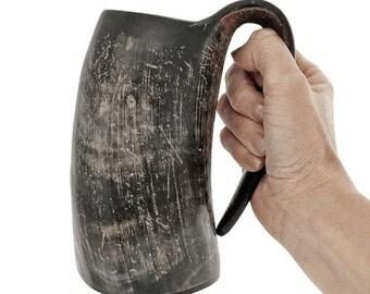 AleHorn 16oz Drinking Horn Tankard