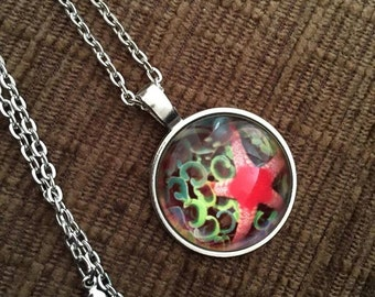 Starfish necklace - gift boxed