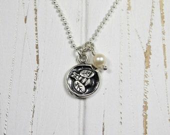 Honey Bee Charm Necklace