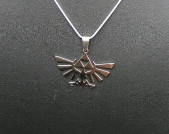 Legend of Zelda Necklace, Stainless Steel