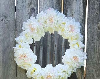 Flower Mirror Round