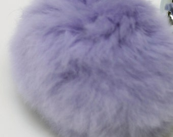 Soft Fluffy Real Fur Bunny Rabbit Tail Plug In Various Colours.