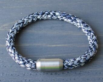 Rope Bracelet | Navy Grey Sailing Rope Bracelet | Mens Bracelet | Womens Bracelet