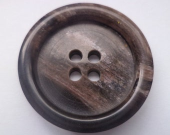 9 dark brown knobs 26mm (3226) button brown jacket buttons jacket buttons