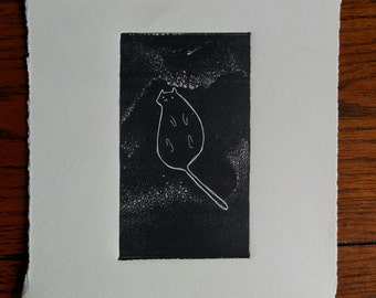 Kitty: Original, Hand-Pulled, 1st Edition print