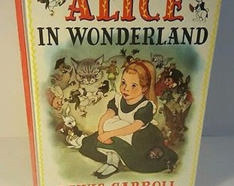 Alice in Wonderland by Lewis Carroll. 1955. Illustrated by Marjorie Torrey - 1955