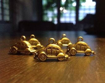 Volkswagen classic beetle car charm x5