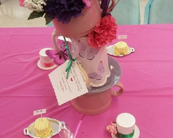 "15"" Tall Alice in Wonderland Mad Hatter Tea Party CenterPieces!"