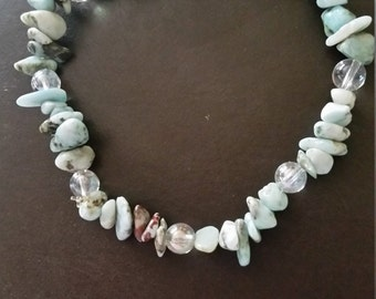 Stretchy Gemstone Chip Bracelet